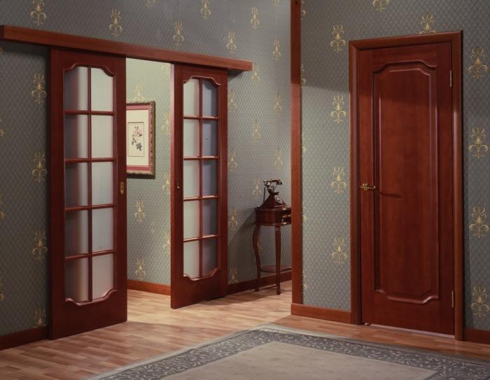 Двустворчатые двери