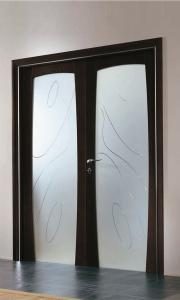 Фото Распашные  и двухстворчатые межкомнатные двери Двустворчатые двери
