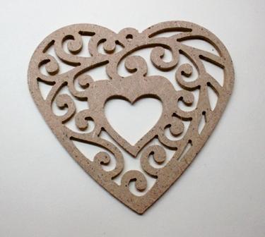 Сердце 01 орнамент