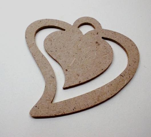 Сердце 03 с прорезью