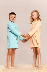 Фото Детские халаты, Махровые Халат махровый