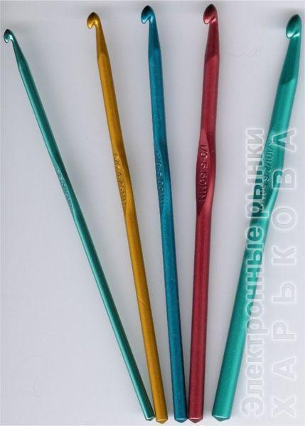 Крючок 5,5 мм - Спицы, крючки и аксессуары для вязания на рынке Барабашова
