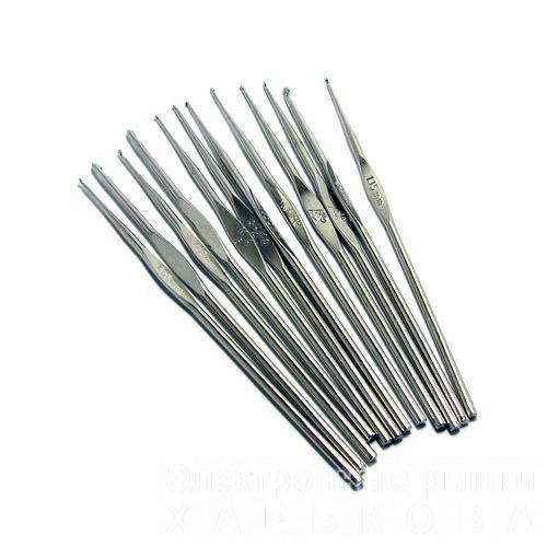 Крючок 1,25 мм - Спицы, крючки и аксессуары для вязания на рынке Барабашова