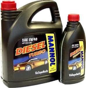 MANNOL Diesel Turbo 5w-40 синт. 5л