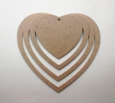 Загоотовки-сердечки