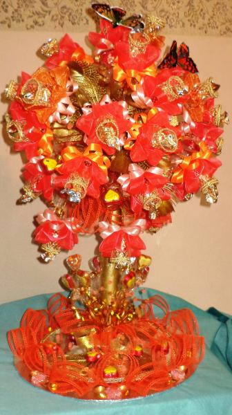 Дерево из конфет «УРОЖАЙНОЕ»