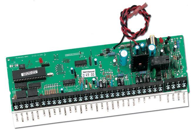 Контрольная панель NX-8-BO-LR-FG-EUR (плата)
