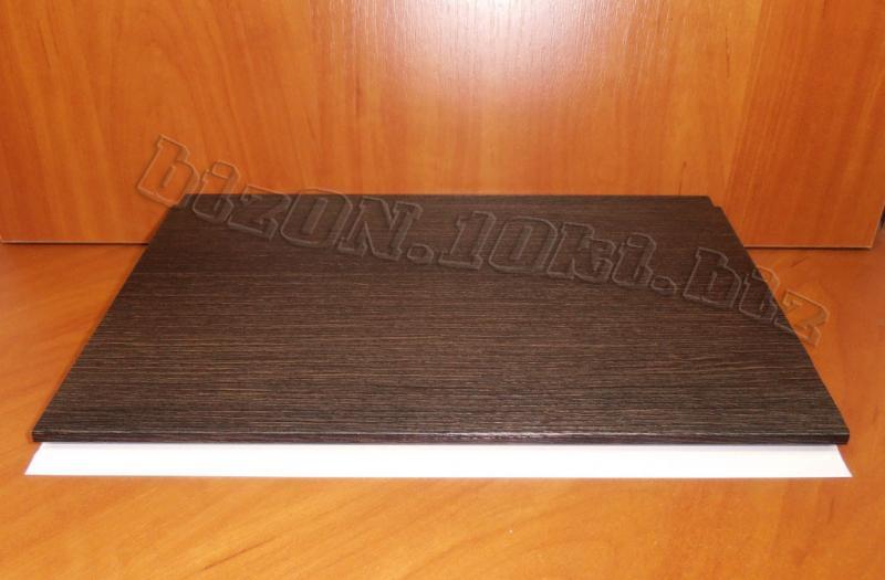 Фото Товара НЕТ в наличии «Венге Темный»   Ламинированные  пластиковые панели ПВХ   «DECOMAX»