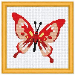 """Набор для вышивания крестиком №101 """"Бабочка"""""""
