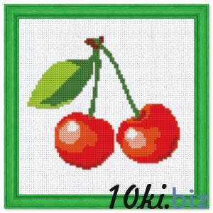 """Набор для вышивания крестиком №213 """"Вишенки"""" (фрукты) купить в Симферополе - Подарки и сувениры ручной работы"""