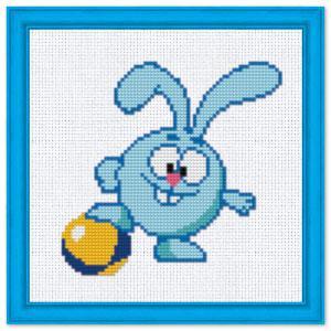 """Набор для вышивания крестиком №306 """"Крош"""" (Смешарики)"""