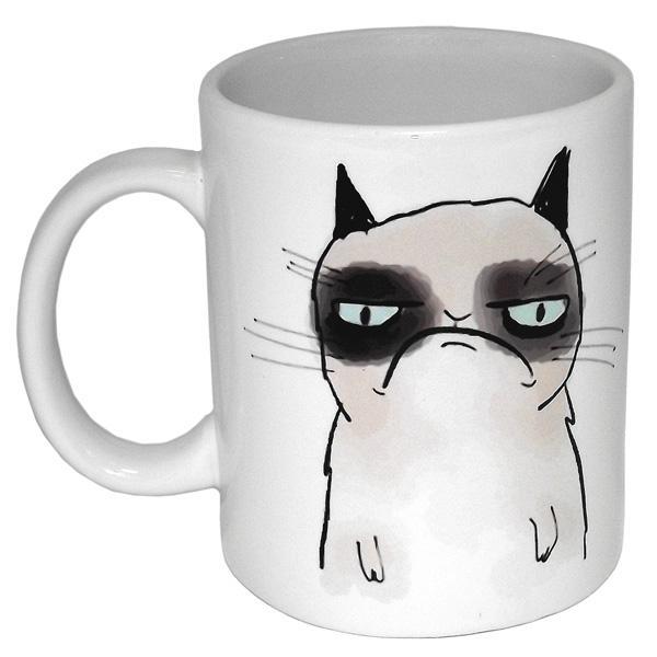 """Кружка """"Грустный кот"""""""