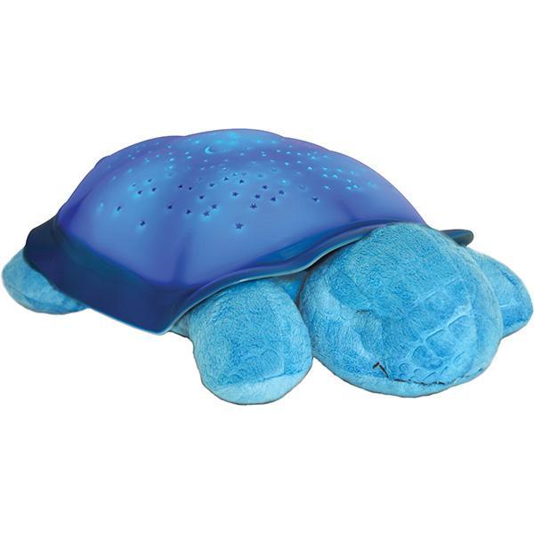 Ночник проектор звездного неба Музыкальная черепаха Music Turtle Blue голубая