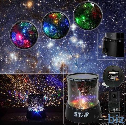 Проектор-светильник Звездное небо Оригинальные подарки в Москве