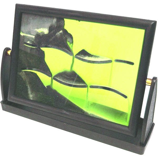 Релаксант рамка со вставками внутри (22*15,5 см, жёлтая)
