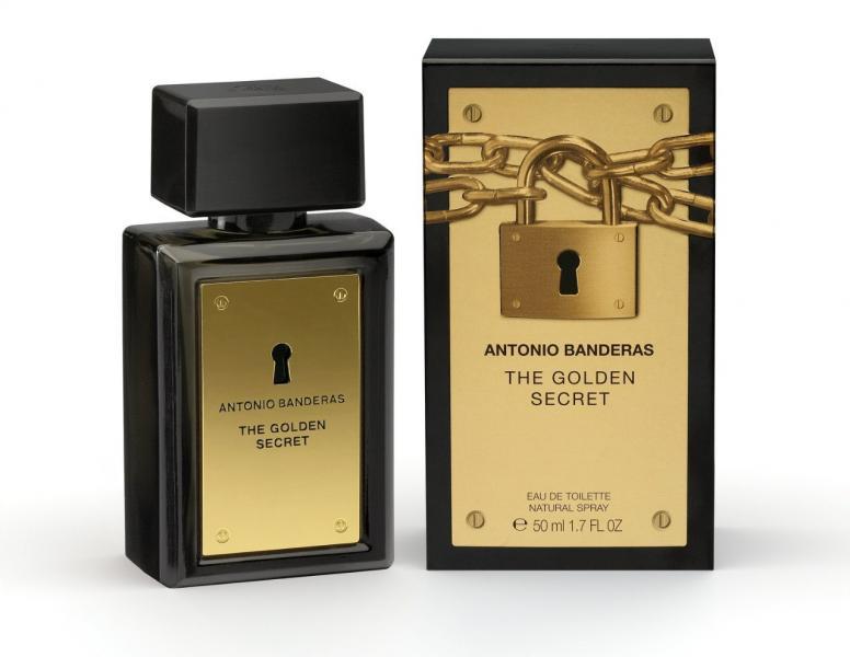 Мужской аромат Antonio Banderas The Golden Secret Оригинал 50ml.