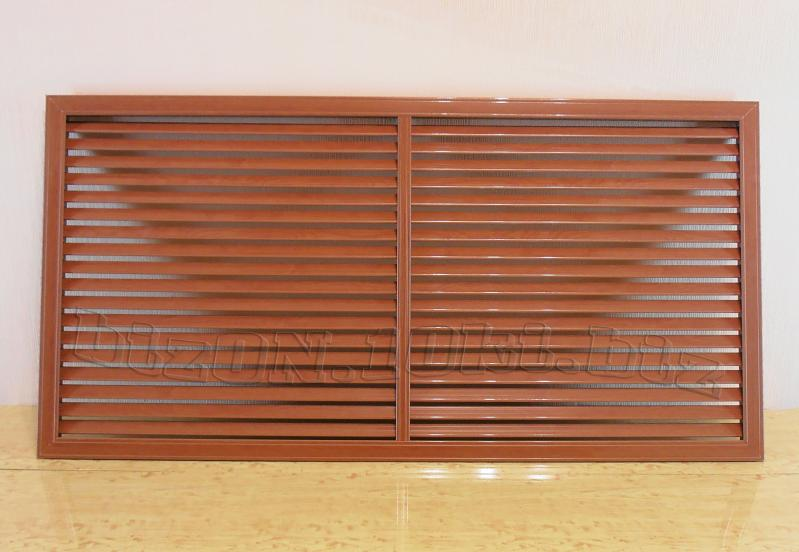 Решетка пластиковая;   размер - 1200 х 600 мм;   цвет - Вишня Темная;   для радиаторов отопления и декора