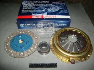 Диск сцепления нажимной на ГАЗ дв. 406 комплект (ведомый 402+муфта) (инжекторный) (пр-во ЗМЗ)