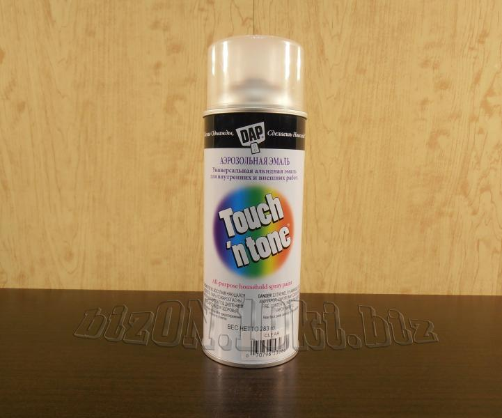 Фото Товара НЕТ в наличии Аэрозольный лак DAP® Touch'N'Tone® Acrylic Lacquer Spray     (Арт. Т40)