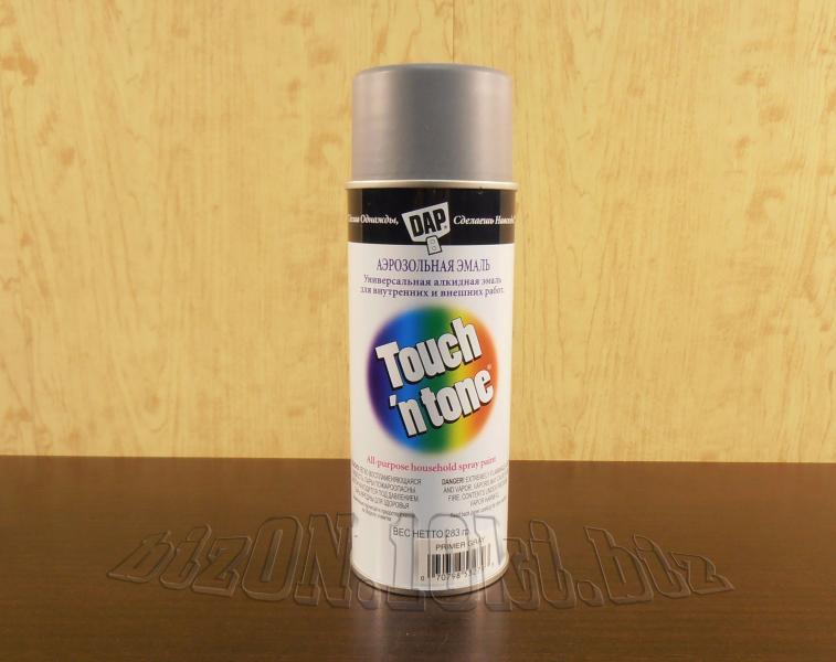 Аэрозольная краска-грунт DAP® Touch'N Tone® Primer Gray     (Арт. Т41)