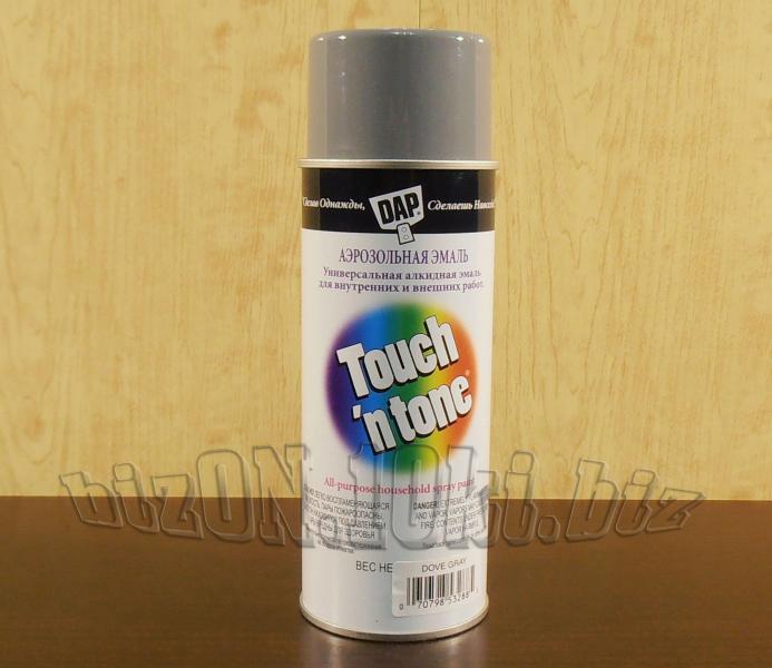 Универсальная аэрозольная краска DAP® Touch'N Tone®   All-Purpose Spray Paint     цвет – Серый     (Арт. Т43)