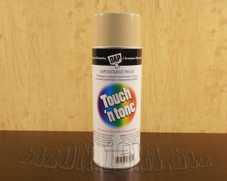 Универсальная аэрозольная краска DAP® Touch'N Tone®   All-Purpose Spray Paint     цвет – Бежевый     (Арт. Т45)