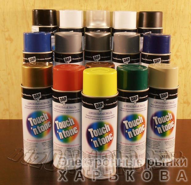 Универсальная аэрозольная краска DAP® Touch'N Tone® All