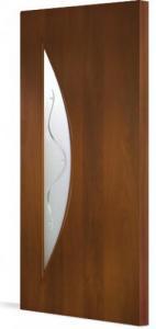 Фото Ламинированные Двери Межкомнатная дверь Тип С-6 ( витраж)