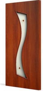 Фото Ламинированные Двери Межкомнатная дверь Тип С-19 (витраж)