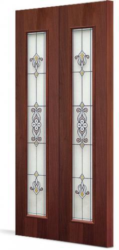 Межкомнатная складная дверь Тип С-22(х) Барроко