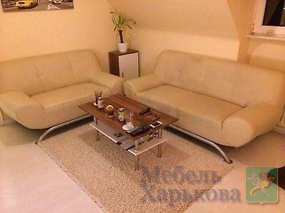 Комплект кожаной мягкой мебели (3+2) - Комплекты мягкой мебели в Харькове