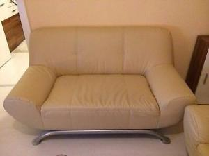 Фото Кожаная мягкая мебель Комплект кожаной мягкой мебели (3+2)