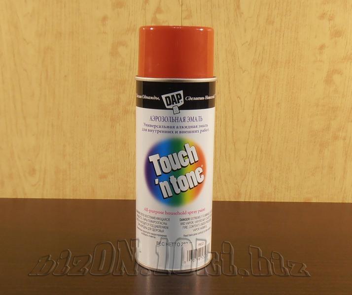Универсальная аэрозольная краска DAP® Touch'N Tone®   All-Purpose Spray Paint     цвет – Красный     (Арт. Т49)