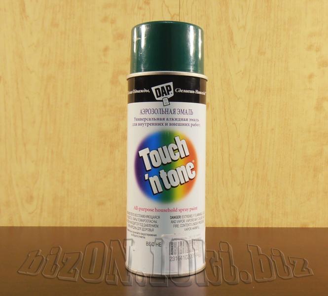 Универсальная аэрозольная краска DAP® Touch'N Tone®   All-Purpose Spray Paint     цвет – Зеленый     (Арт. Т50)