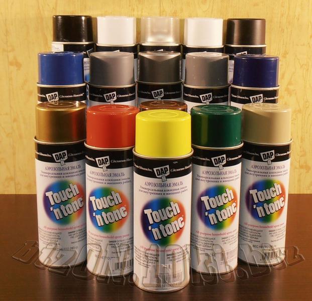 Фото Краски аэрозольные Универсальная аэрозольная краска DAP® Touch'N Tone®   All-Purpose Spray Paint     цвет – Темно-Синий     (Арт. Т52)