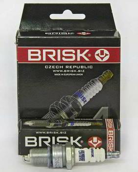 Свечи BRISK SILVER LR15YS (ВАЗ 2101-2110 карб.) 4 шт.
