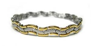 Фото Магнитные браслеты, Стальные Магнитный стальной браслет Исида