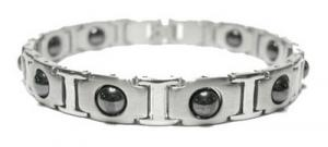 Фото Магнитные браслеты, Стальные Магнитный стальной браслет Америя