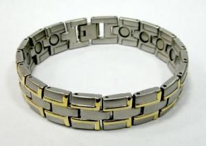 Фото Магнитные браслеты, Стальные Магнитный стальной браслет Вебстер