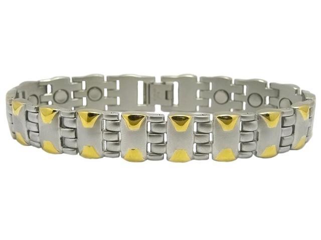 Магнитный стальной браслет Родос