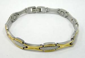 Фото Магнитные браслеты, Титановые Магнитный титановый браслет Моргана