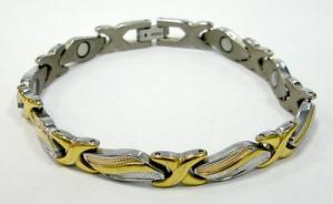 Фото Магнитные браслеты, Титановые Магнитный титановый браслет Галатея