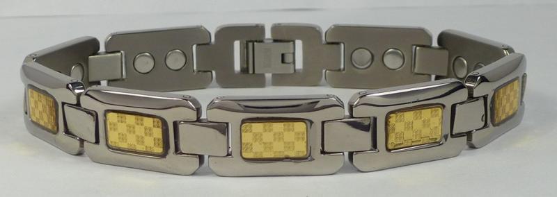 Магнитный титановый браслет Людовик