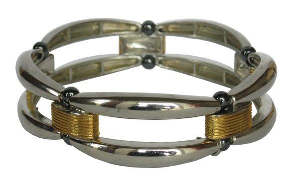Магнитный гематитовый браслет Теана