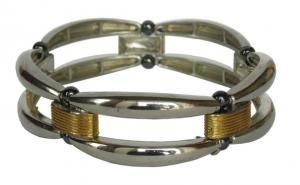 Фото Магнитные браслеты, Гематитовые Магнитный гематитовый браслет Теана