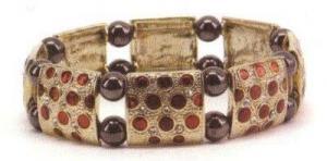 Фото Магнитные браслеты, Гематитовые Магнитный гематитовый браслет Болеро