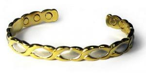 Фото Медные магнитные браслеты Медный магнитный браслет ЖИЗЕЛЬ