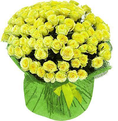 Букет 101 роза ( Лимбо)