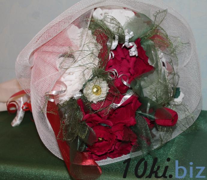 Букет подарочный из конфет  «ПИОНЫ» Подарки и сувениры ручной работы купить на рынке Дубровка