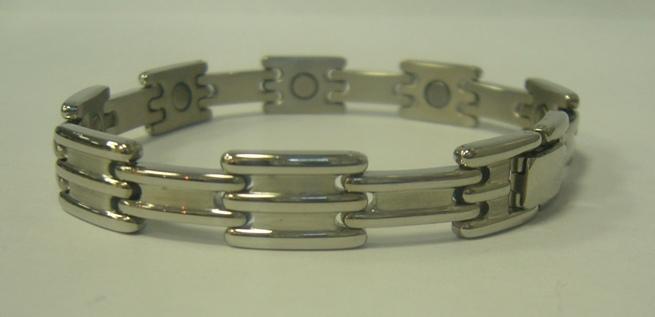 Магнитный стальной браслет Кайсар